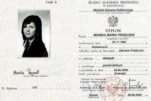 Monika Cebula dietetyk certyfikaty_001