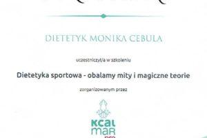 Monika Cebula dietetyk certyfikaty_005