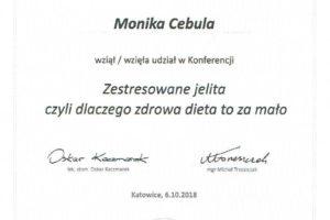 Monika Cebula dietetyk certyfikaty_012