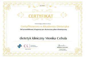 Monika Cebula dietetyk certyfikaty_013
