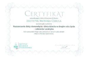 Monika Cebula dietetyk certyfikaty_019