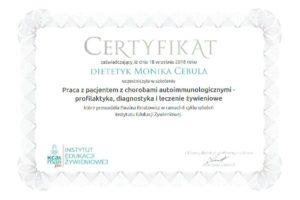 Monika Cebula dietetyk certyfikaty_022