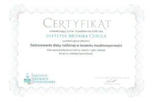 Monika Cebula dietetyk certyfikaty_023